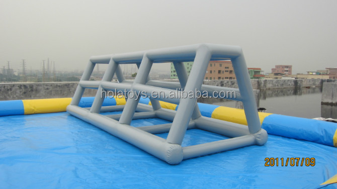 Inflatable water pool for kids/plastic swimming pool with water ball