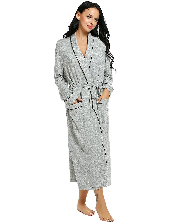 Get Quotations · L amore Women s towelling Bathrobe Comfort Sleepwear  Classic Luxury Comfy Robes cd313c14b