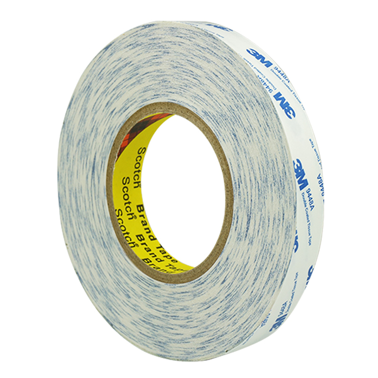 10mmx50m Double Sided Adhesive Tape Tissue Self Fabric 3M 9448A 0.14 Thick