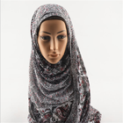 Beautiful Pattern Printing Fashion Muslim malaysia Hijab