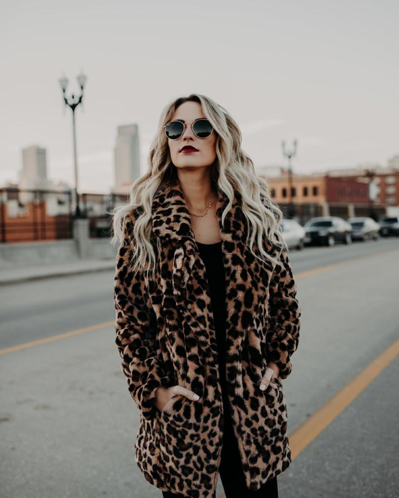 High Quality Luxury Faux Fur <strong>Coat</strong> for Women <strong>Coat</strong> <strong>Winter</strong> Warm <strong>Fashion</strong> Leopard Artificial Fur Women's <strong>Coats</strong>