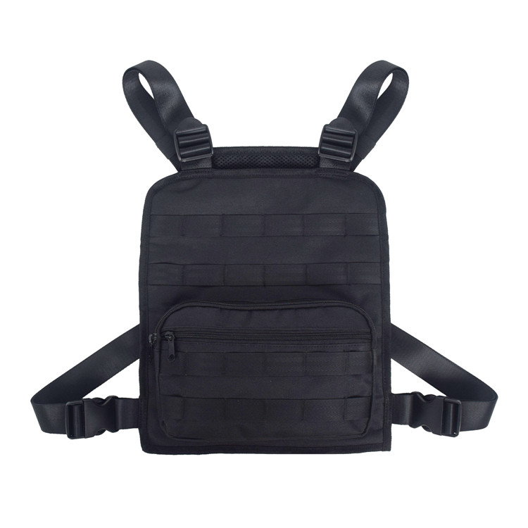 Molle Pouch Black Tactical Combat Chest Recon Kit Bag