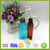 130ml flat clear empty plastic dishwashing bottles with flip top packaging