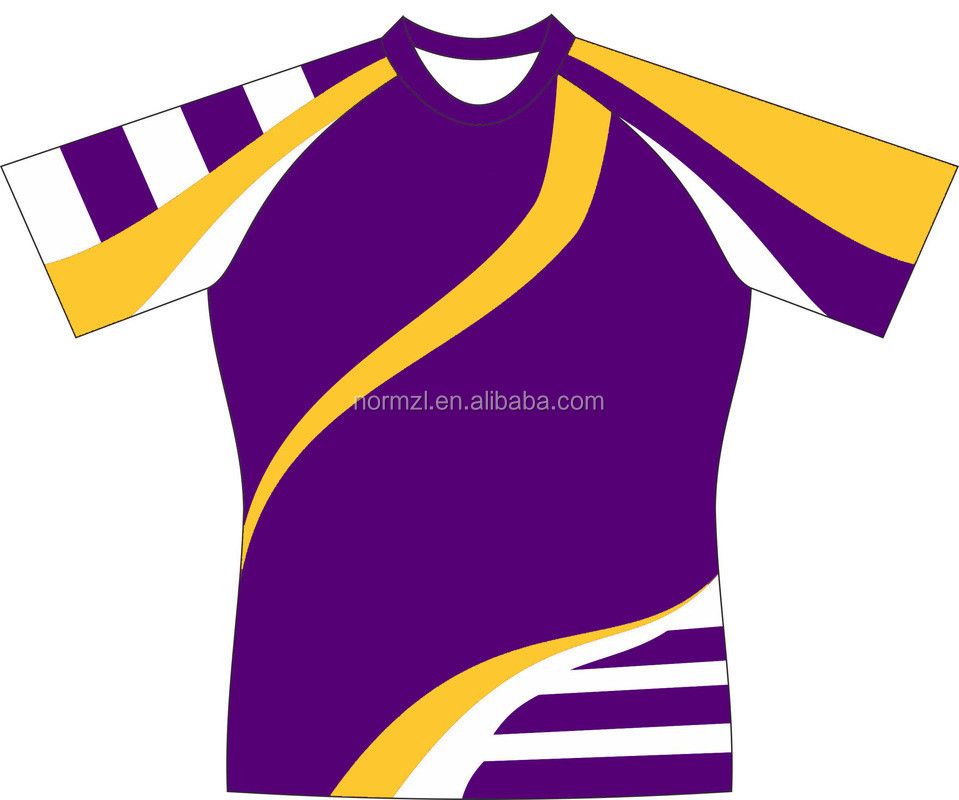 Rugby League Jersey Professional Purple