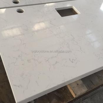 Epoxy Resin Pink Quartz Stone Countertops