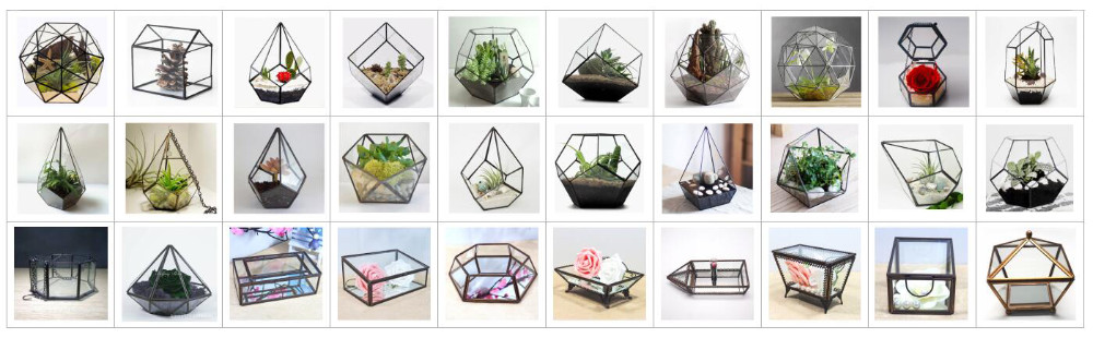 HX-7766A Glass reptile terrarium for decoration made in china