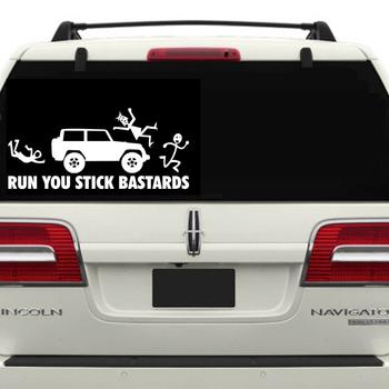 Custom cool non permanent vinyl car decals and die cut window sticker