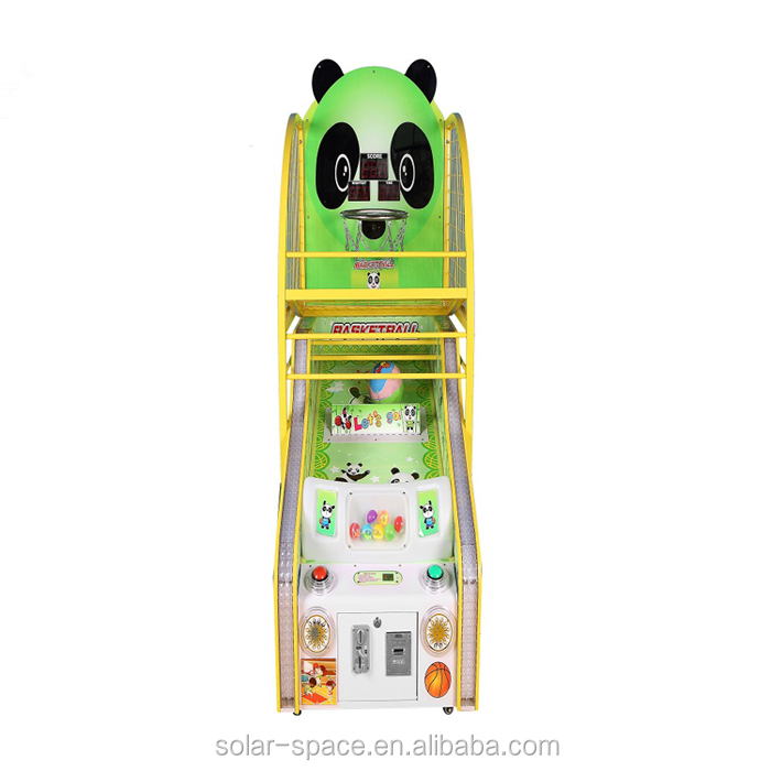 Muntautomaat Kids Indoor Arcade Basketbal Game Machine