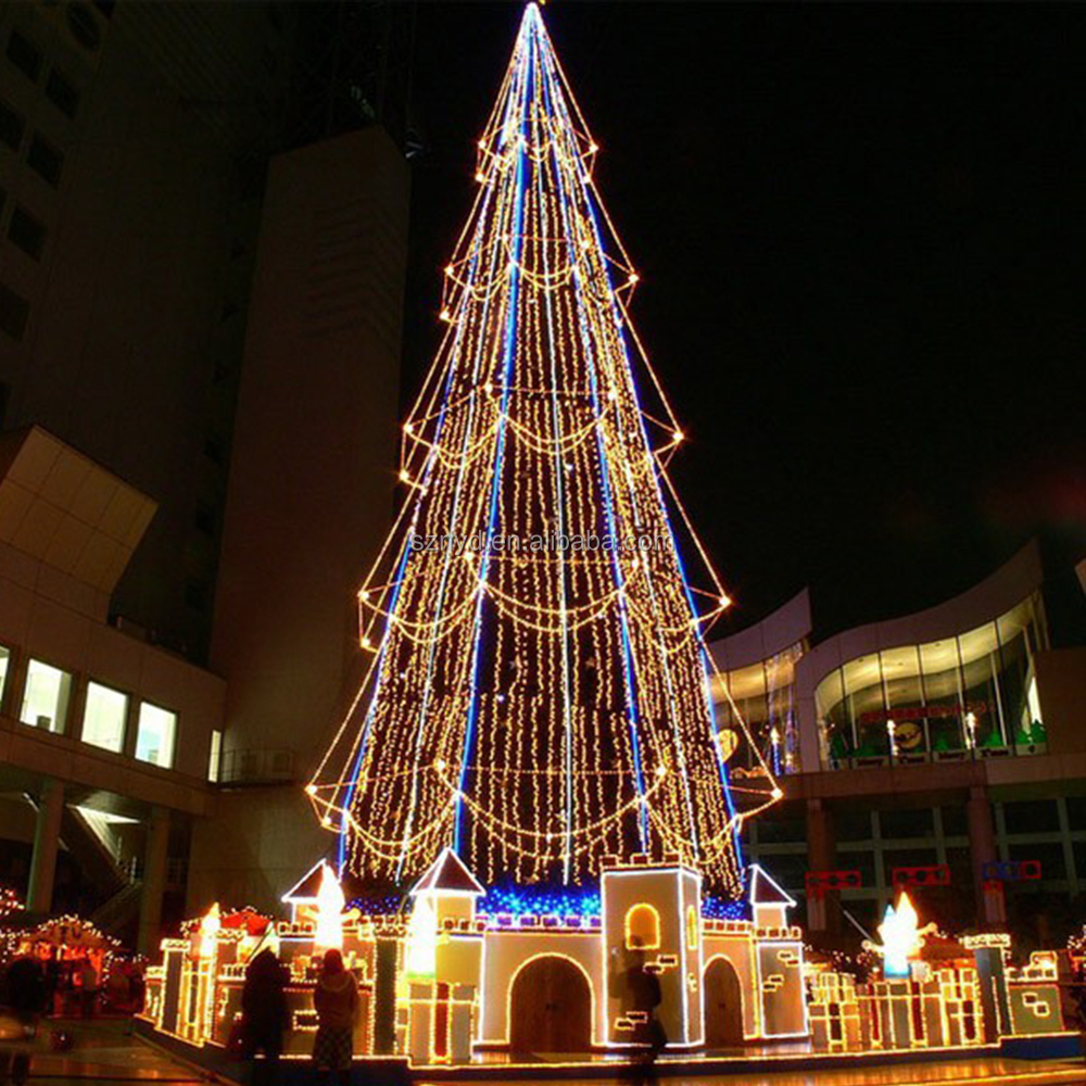 Outdoor Metal Christmas Trees