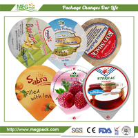 53mm Aluminum Foil Lid Coated with PS / Aluminum Foil Lid for Coffee Capsule
