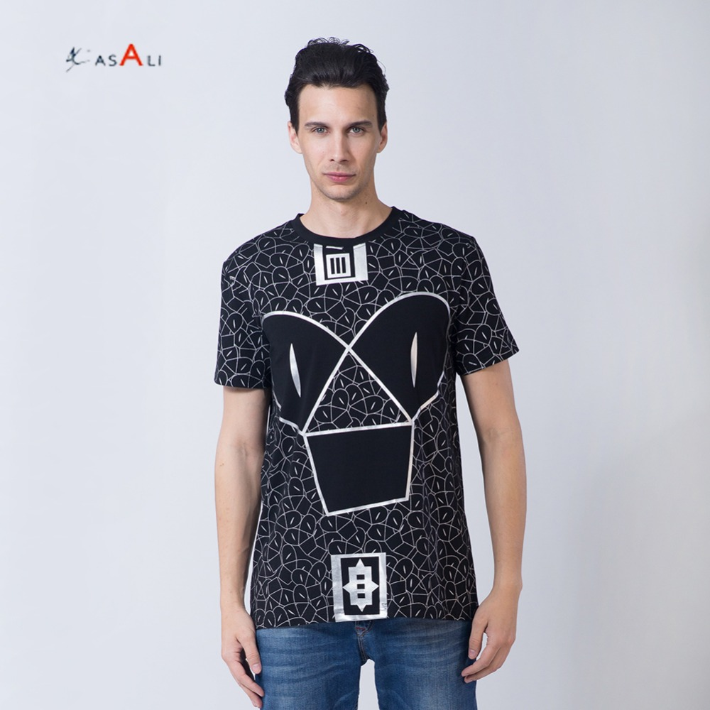 Digital printing custom latest men tshirt wholesale