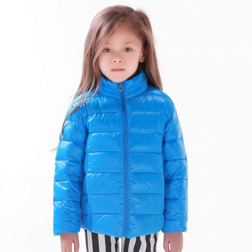Girls Blue Coats Han Coats