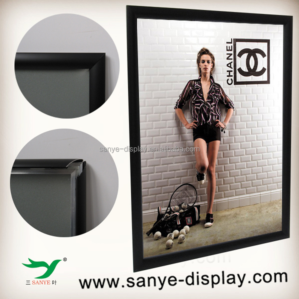 new style round corner snap frame 14x22 poster frame walmart