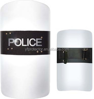 Police anti riot equipment anti riot shield
