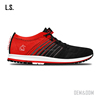 Best gradient sports running shoe weave gym shoes women for wholesale