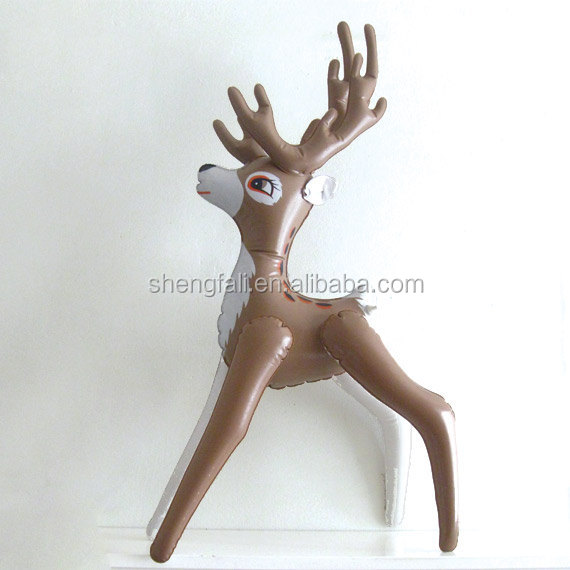 ... New Custom Pvc Toy Inflatable Reindeer For Party
