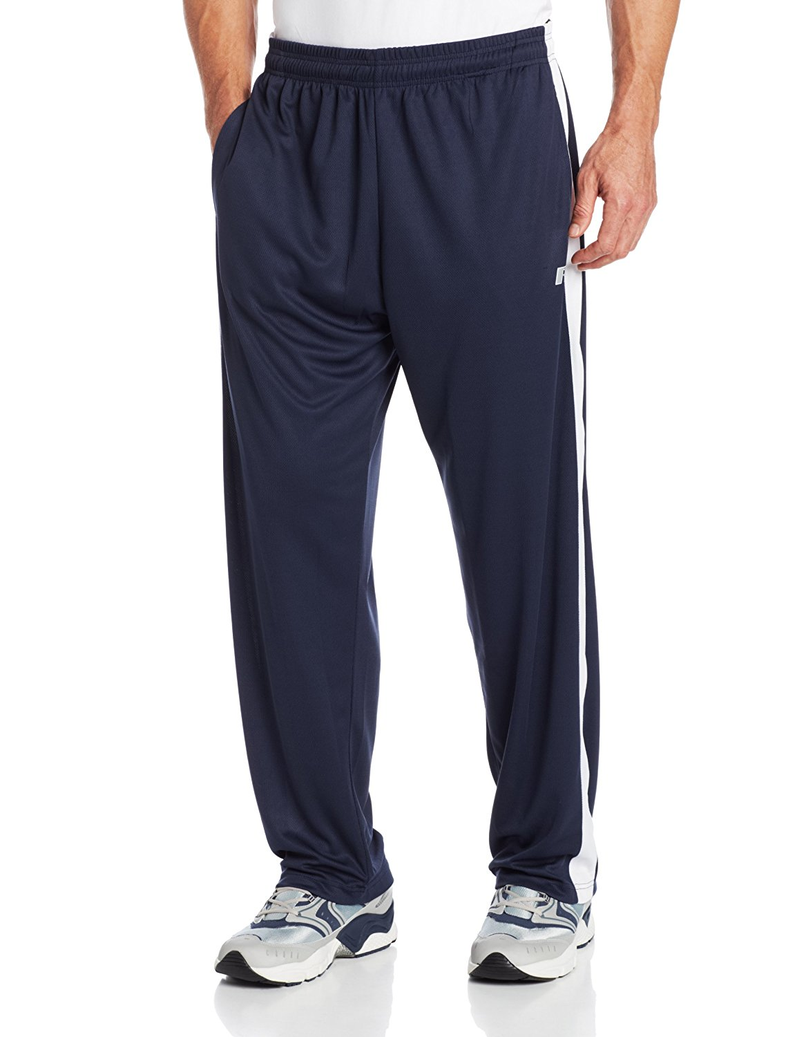 Russell Athletic Big & Tall Men's Big-Tall Athletic Dri-Power Pant, Navy, 3X-Large/Tall