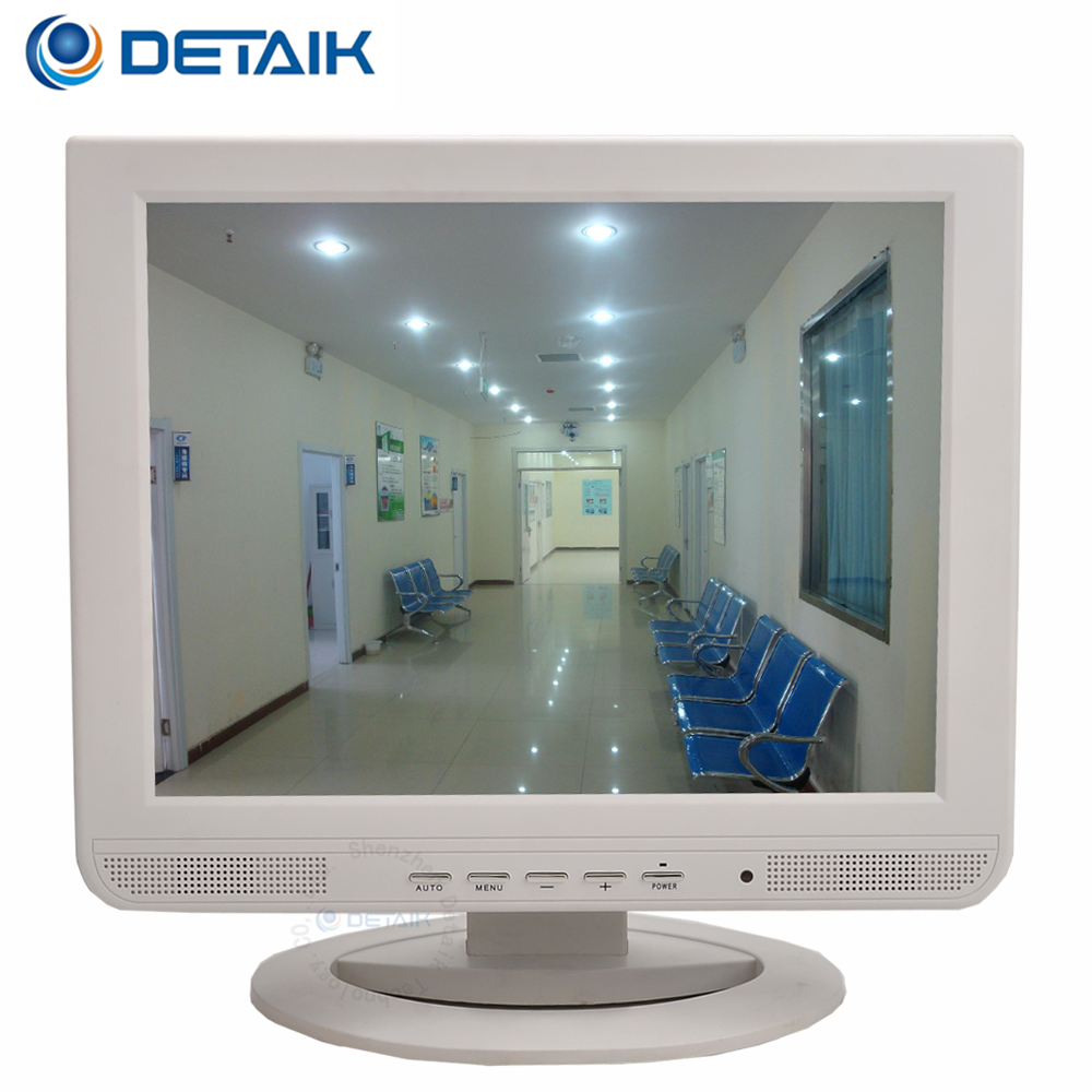 15inch White Cctv Bnc Monitor Professional Security For Hospital Buy Monitor15 Inch