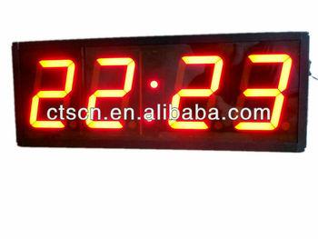 Remote Led Large Led Clock Timers Countdown Timer 4 Large Digital