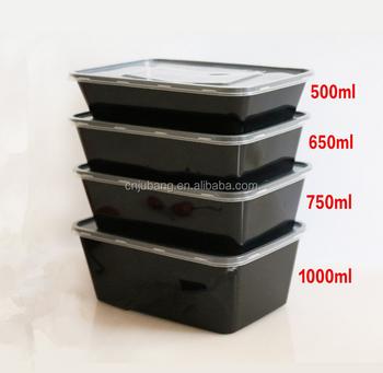 Plastik Kotak Makanan Cepat Saji Takeaway Sekali Pakai Mengambil