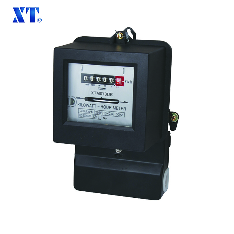 energy meter expert/ Single phase two way electromechanical 220V kwh electric energy monitor meter