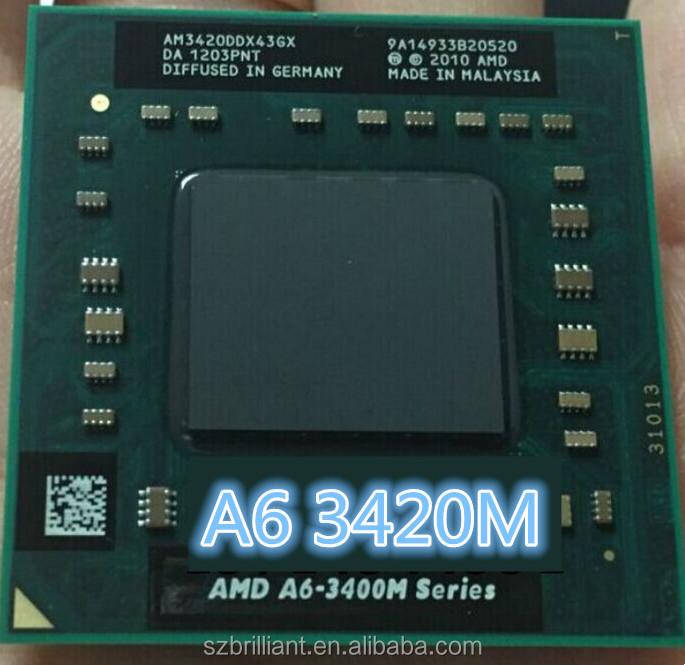 AMD A6-3420M 1.5GHz Socket FS1 Laptop CPU AM3420DDX43GX