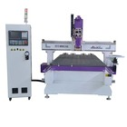 Heavy duty steel frame 1325 carrousel type ATC cnc router /machine
