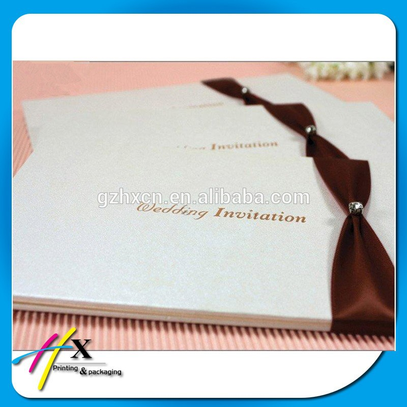 Fancy Paper Envelopes Elegant Wedding Invitation With Bowknot Decorative