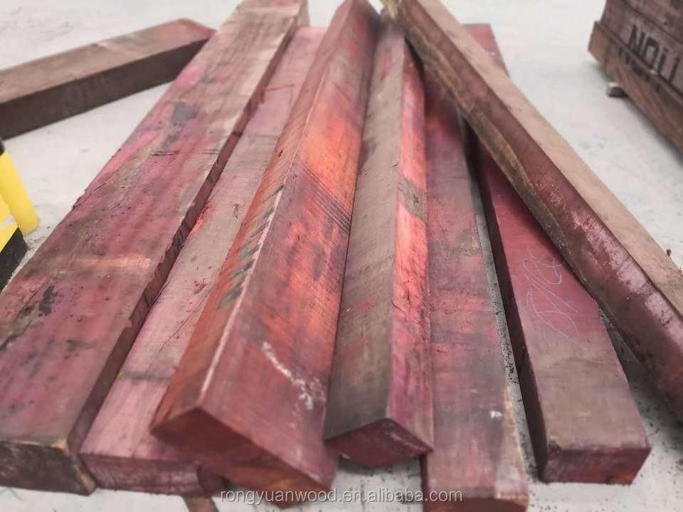الأفريقية روزوود Padouk الخام الخشب أو السجلات ل بناء السفن