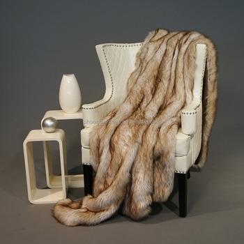 Faux Fur Fluffy Throw Blankets Sofa