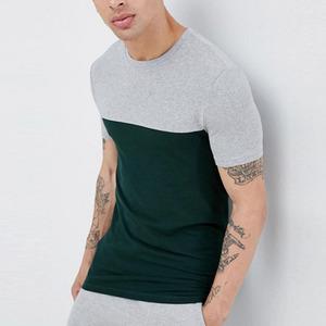 garment factory in bangladesh contrast yoke muscle fit t shirt