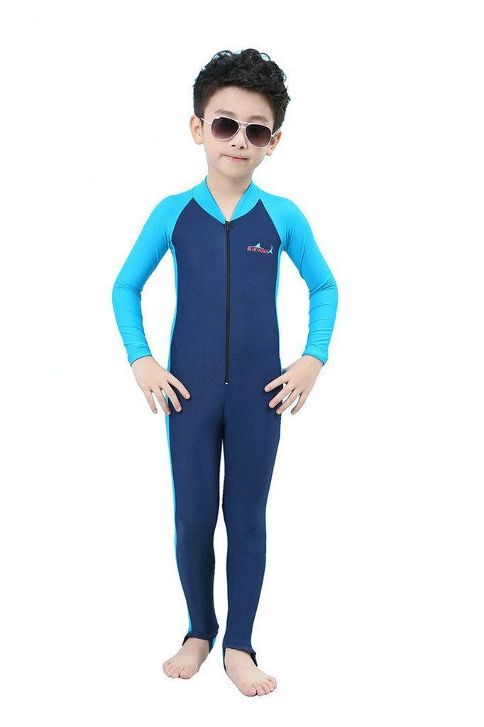 72be6ce6d75f0 Get Quotations · Labelar Sun Protection Swimwear Stinger Suit Full Body  Swimsuit for Boys and Girls