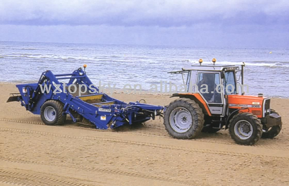 Tractor Mounted Beach Sand Cleaner Cleaning Machine Product On Alibaba