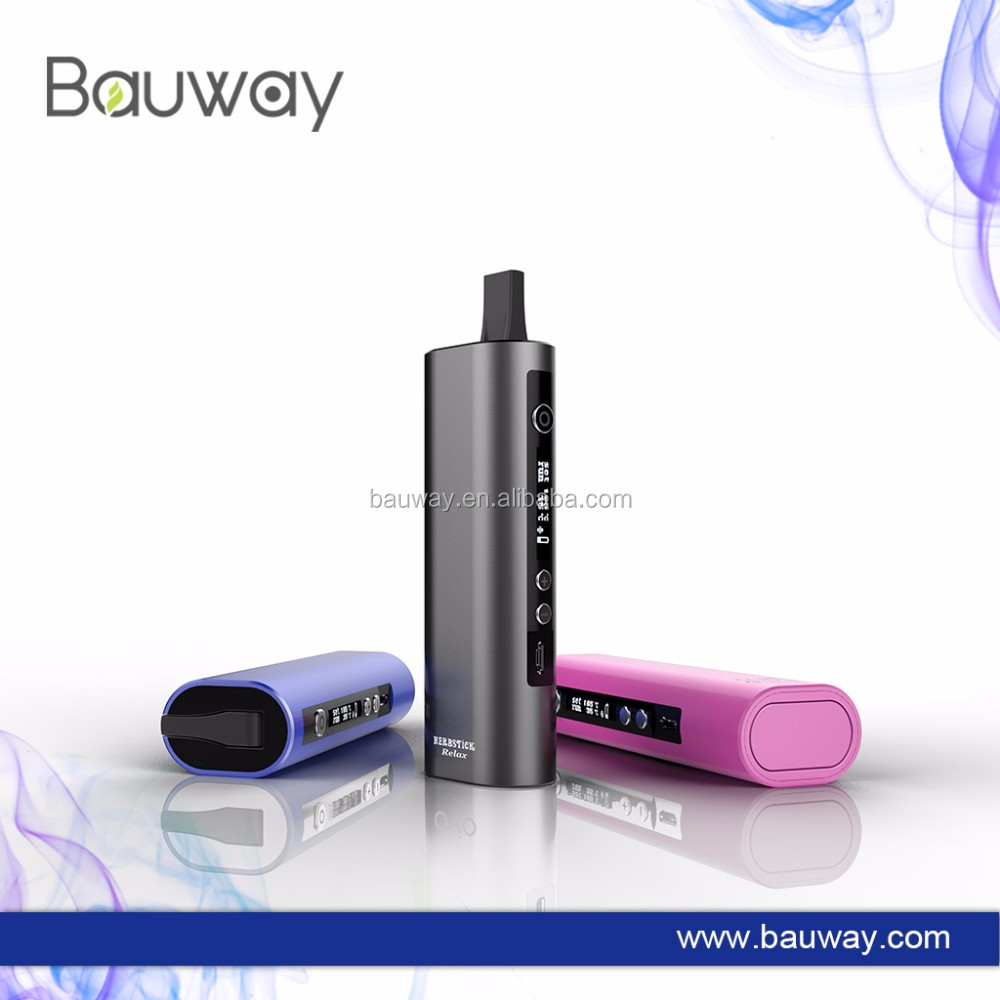 2017 Hot vaping smoking device vape pen dry herb Black vaporizer