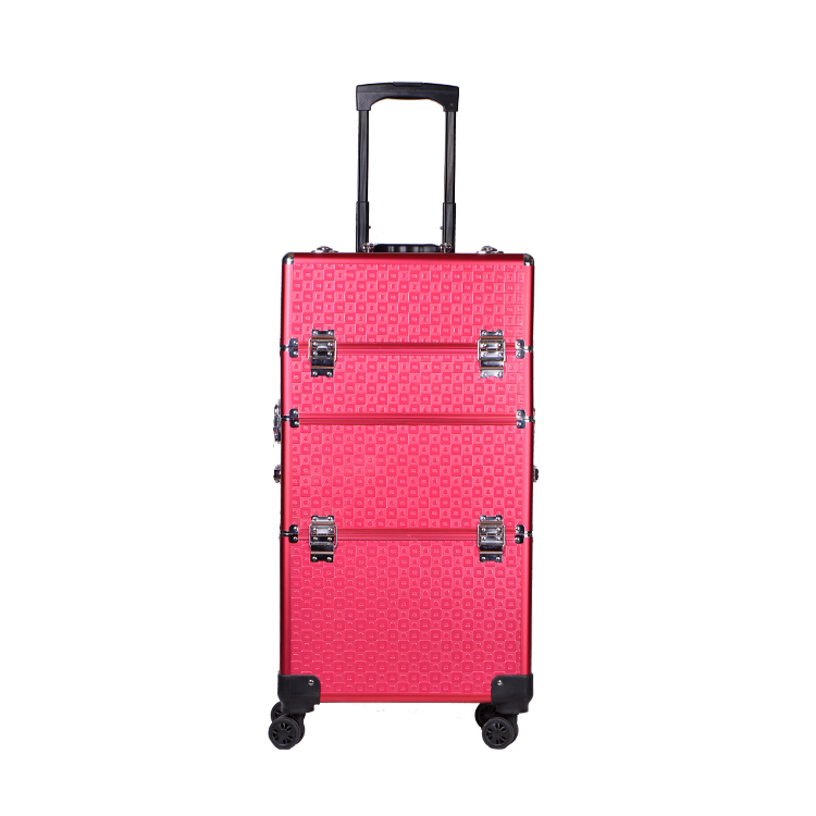 Draagbare Handige Tattoo Tool Reizen Carrying Box Make Trolley Case Cosmetische Case