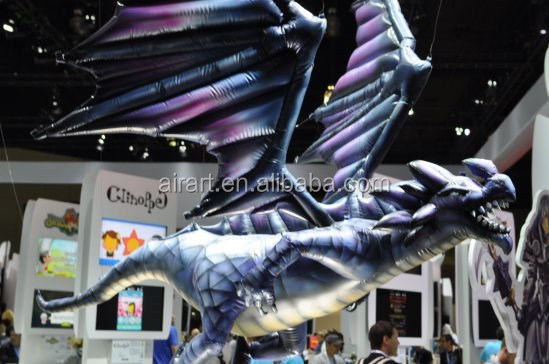 auto show Creatable Inflatables Giant Inflatable dragon