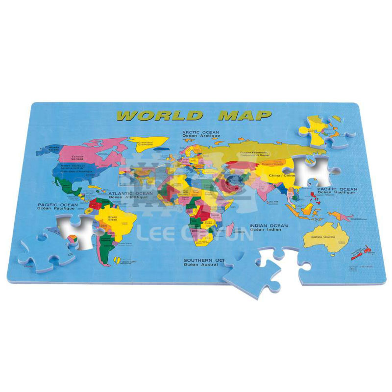 Eva Foam World Map Puzzle - Buy Eva Foam World Map Puzzle Product on  Alibaba.com