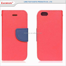 Hot Sale Hit color PU Mobile Phone Case For iPhone 5 5s 6 6s Plus, Custom Mobile Phone Case PU Leather Case For iPhone 7 7 Plus