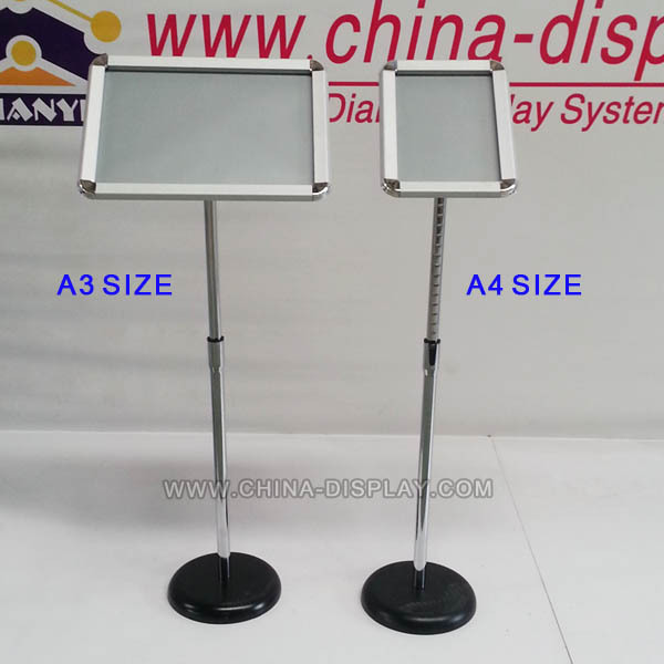 Outdoor A1 Water Base Poster Stand 2 tiers countertop casio watch display stand
