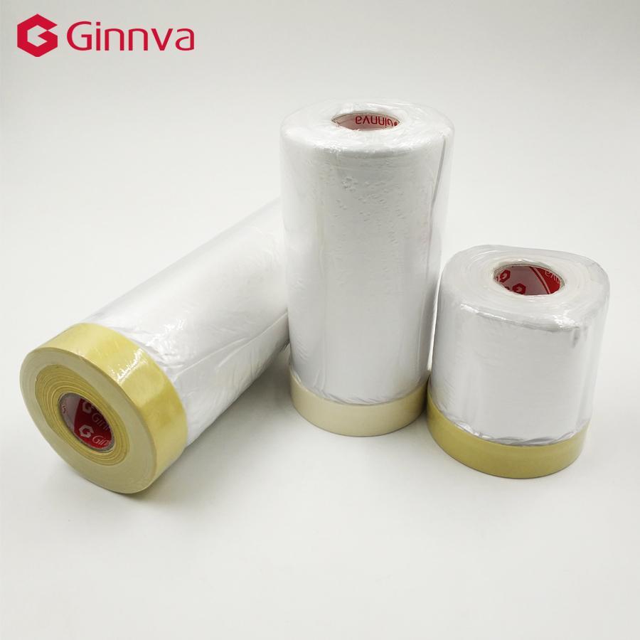 Горячая продажа водонепроницаемая лента цветная Автомобильная клейкая пленка маскирующая клейкая бумага в рулоне