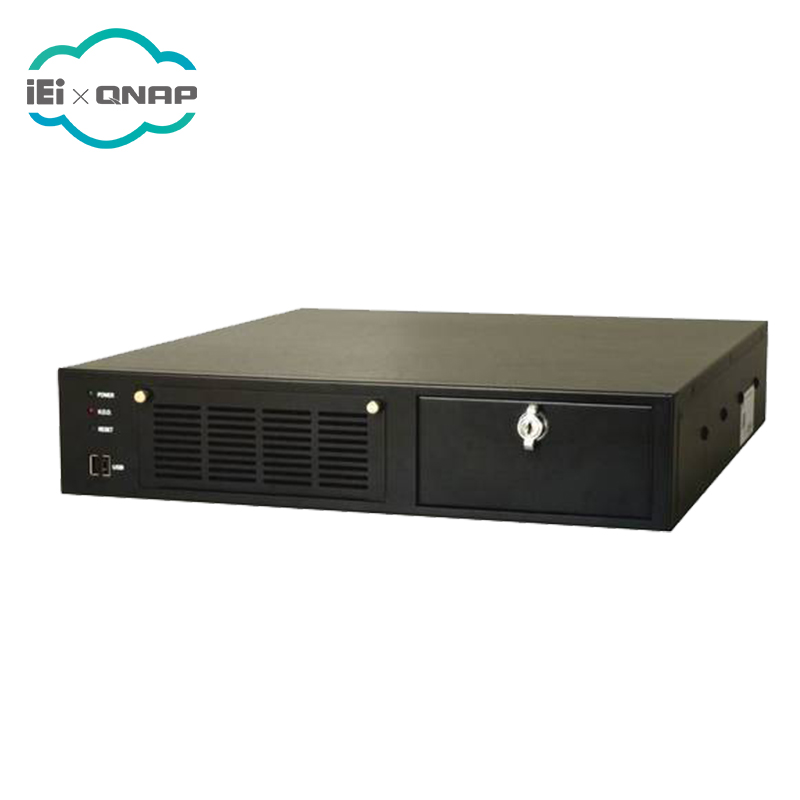 IEI RACK-220GB 2U 6-חריץ מלא-גודל rackmount שלדה עם ACE-A130B-R10 (300 w ATX דגם)