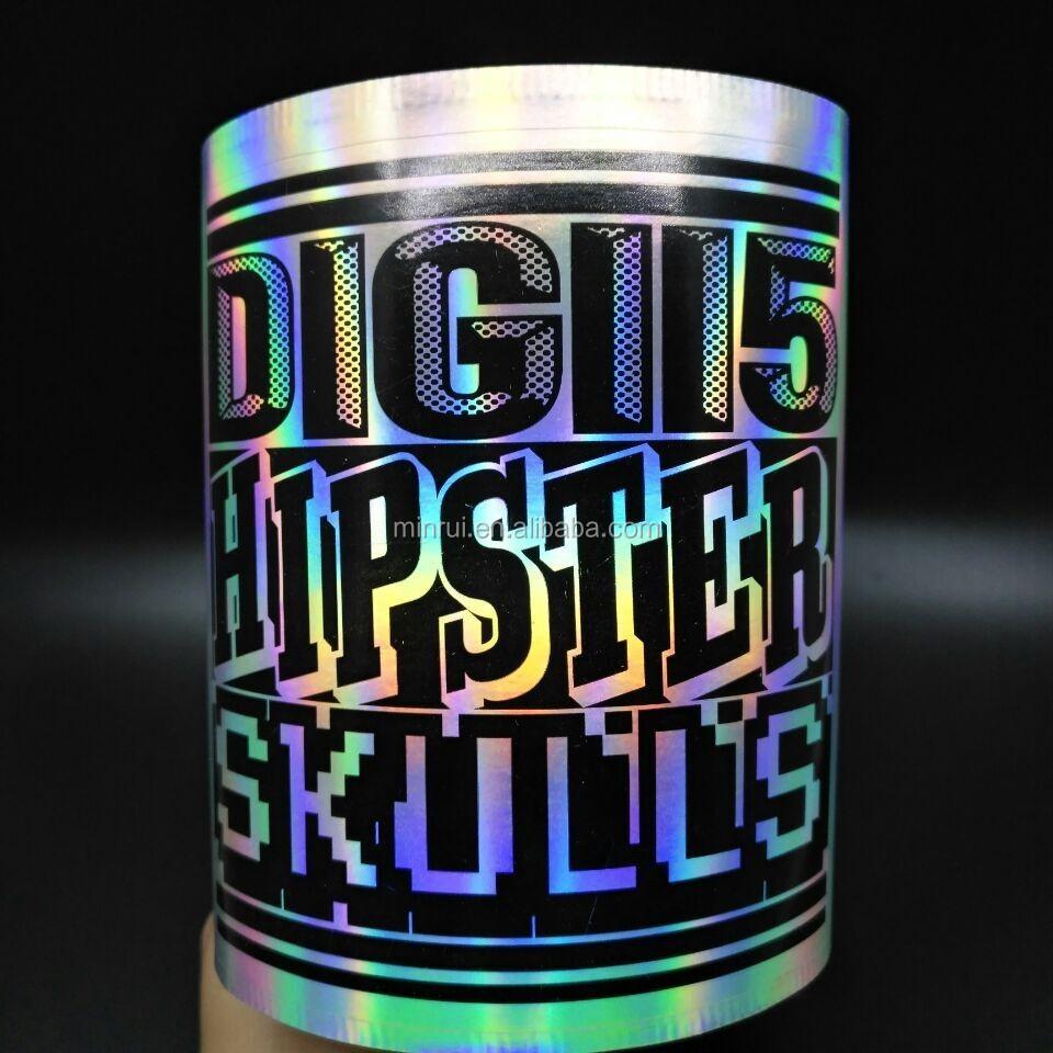 Custom Design Self Adhesive 3d Hologram Security Seal