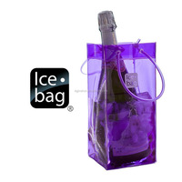 ice Cream Lunch PVC Beer Wine Bottle Insulated Cooler Bag