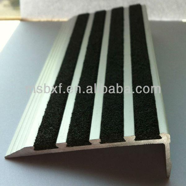 Anti Slip Aluminum Stair Bull Nose Buy Linoleum Stair