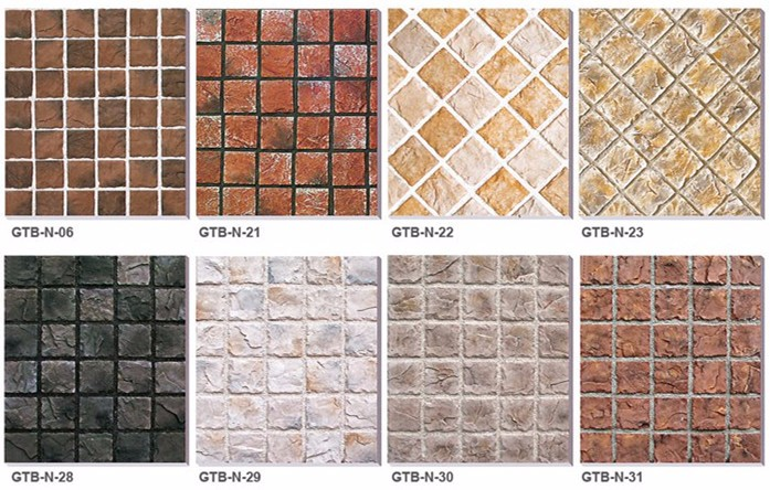 Natural Exterior Wall Designs Of HouseHouse Exterior Walls Tile