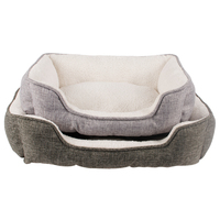 High Quality Modern China Extra Large Faux Fur Hot Grey Cheap Small Pet Dog Cat Sofa Bed For Dog