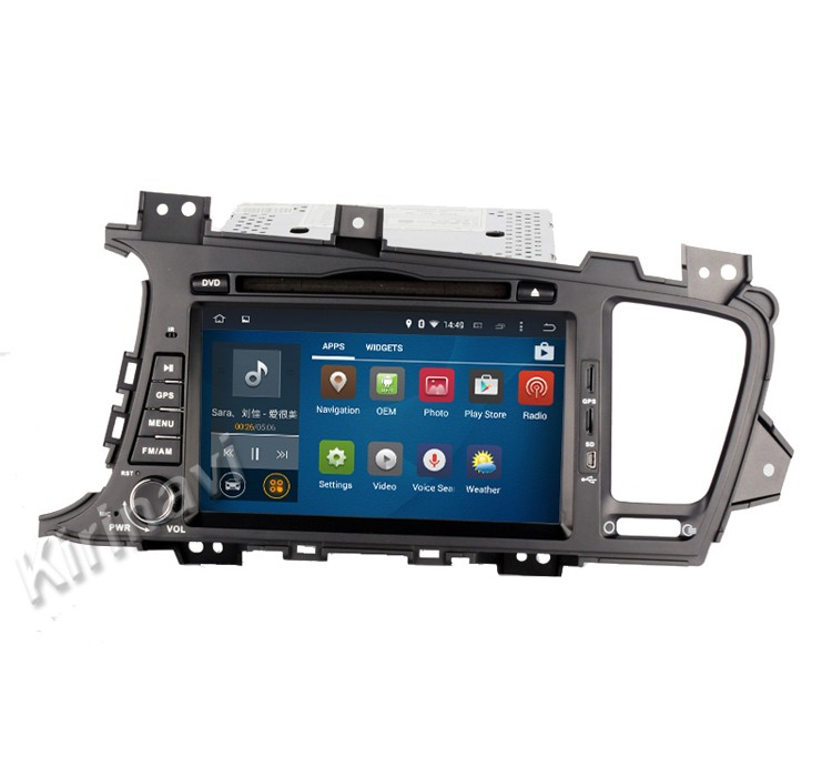 Kirinavi WC-KU8048 android 5.1 auto audio MP3/MP4 speler voor kia optima 2011 + radio gps navigatie touchscreen systeem wifi 3g