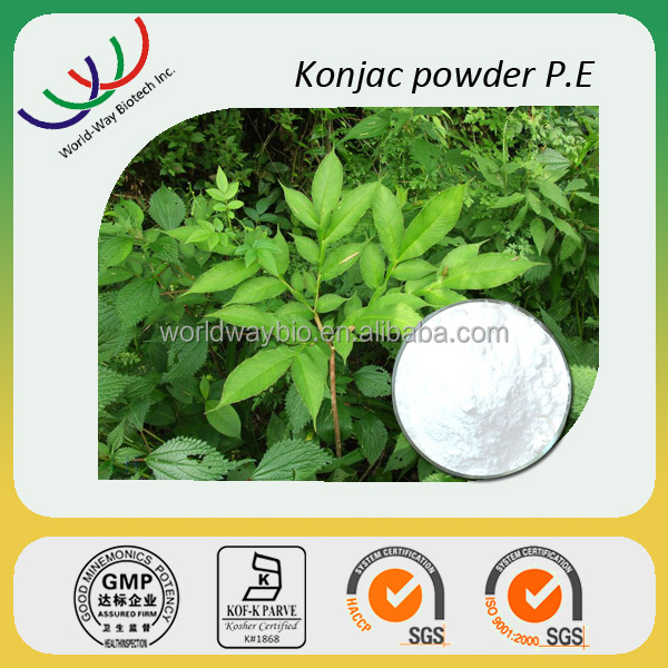 free sample HACCP KOSHER FDA certified manufacturer top quality plant extract OEM extract ratio glucomannan