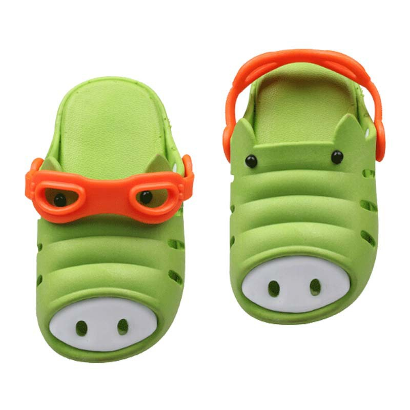 c28d2a4300e Get Quotations · Pig Slippers For Children NEW 2015 Ventilation Summer  Slippers For Kids Children Beach Sandals Pig Slippers