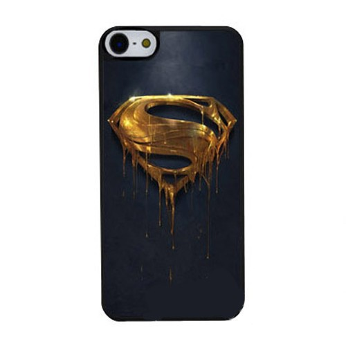 b94dd96dd25 Superman Gold Logo Hard Cover Case for Samsung Galaxy S2 S3 S4 S5 Mini S6  Edge Note 2 3 iPhone 4 4S 5 5S 5C 6 Plus iPod Touch